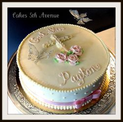 1st Communion Cake ~ Girl