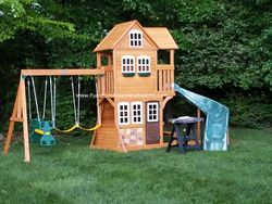 Cedar summit playset assembly in DC MD VA