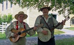 Jim & Allen at Granger Homestead Days