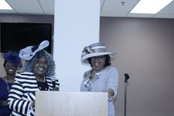 Section Members Ms. Dorothy Moore and Mrs. Katrina Young Presenting
