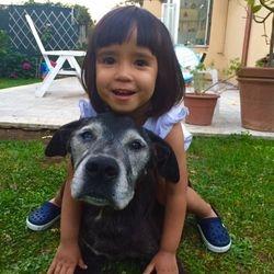 Kunta e la sua proprietaria Emma