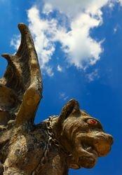 Gargoyle Statue, Lewisburg, Ohio