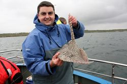 fishing in Ireland galway ray