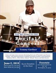 Tommy Gardner - Drum Student Recital