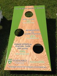 Univeristy Cornhole Set - Oak