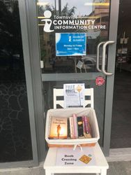 Book Crossing Flinders Street Townsville