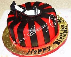 CAKE 41A2 -Louis Vutton Shoe Cake 1
