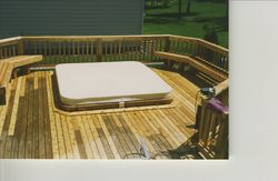 Hot Tub and Deck Combo #3