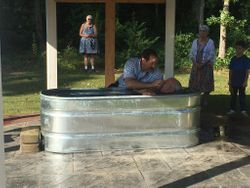 Denny Maulding baptism 08.30.20