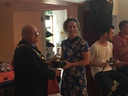 Caldicot Town Ladies Players Player of the Year - Kelly Phelps
