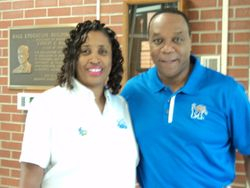Melvyn Harding and Dr. Jada