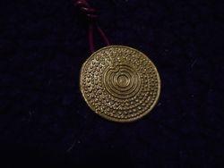 Sköldamuletthänge/ Shield amulet pendant