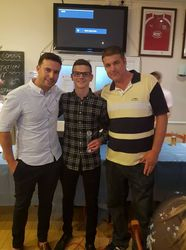 First Team Players Player - Olly Smith