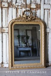 #27/036 FRENCH MIRROR LOUIS XVI DOVES
