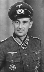 Ritterkreuzträger Franz Gossmann