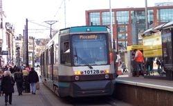 Metrolink Tram with Fairings