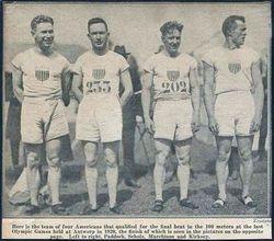 1920 Olympic Winners!