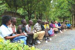 Informal staff meeting