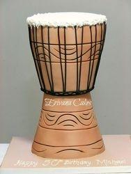 African Drum Cake