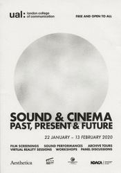 Sound & Cinema: Past, Present & Future (2020)