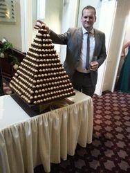 Ferrero Rocher Pyramid Hire Doncaster