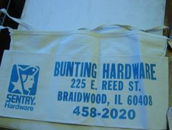 Bunting Hardware Apron