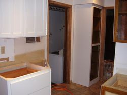 After cabinet refaced, and installed new cabinets