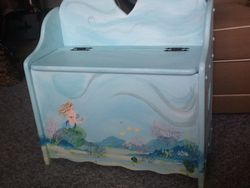 mermaid toy box