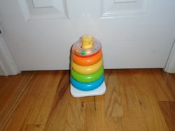 Fisher Price Brilliant Basics Rock-a-Stack - $5