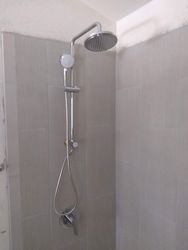 Replaced shower head