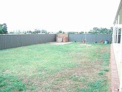 Backyard/Pool Area - Before