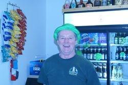 Doug Yates on bar