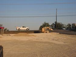 Commercial grading, leveling & installing gravel