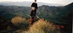 Cory & David hiking in Arizona