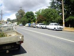 Arriving in Gumeracha