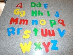Melissa & Doug Wooden Alphabet Magnets- 28 - $3