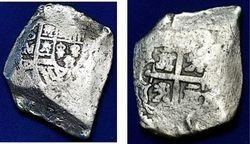 c.1708-23 Mexico, 8 Reales Cob