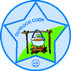 2013-2018 Guide Interest Badge (Outdoor Cook)