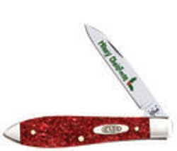 Red Sparkle Christmas Kerinite Tear Drop