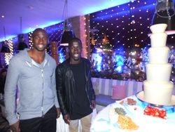 manchester citys football club Celebrity Eliaquim Mangala and Bacary Sagna