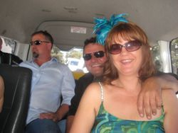 Randwick Races In Sydney Maxi Taxi