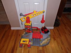 American Plastic Toys Build & Play Construction Zone Play Vehicle Set - $25