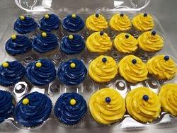 mini cupcakes $1.50 each.