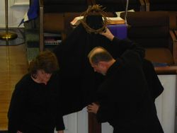 Pastors Preparing The Cross