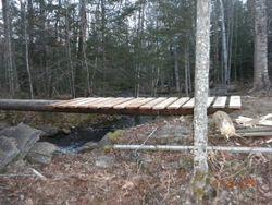 Repaired bridge at Bruce Leeman's