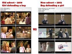 Petit Filous - Old vs New advert