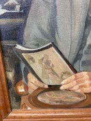details Gustave Camus Painting