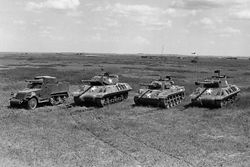 The various vehicles used as TD's: