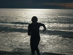 Cullen Parfitt At Roseille Beach Summer 2011