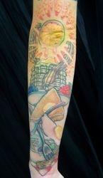 """Jason's """"Epic"""" Breakfast Tattoo"""